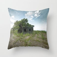 A Forest within Throw Pillow