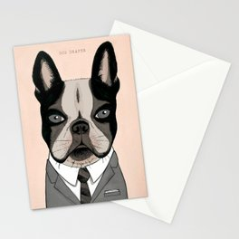 Mad Men Dogs: Dog Draper Stationery Cards