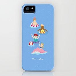 Make a splash iPhone Case