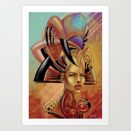 Pharao of Love Art Print