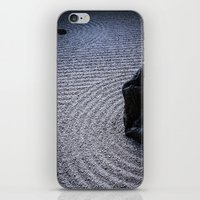 zen iPhone & iPod Skins featuring Zen by Michelle McConnell