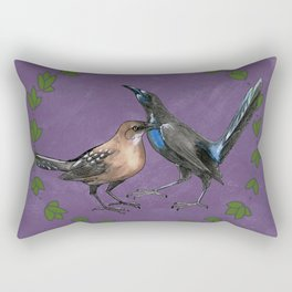 Grackles Rectangular Pillow