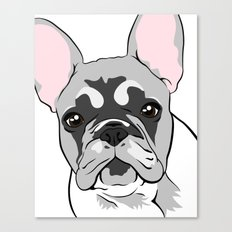 Jersey the French Bulldog Canvas Print