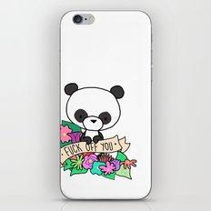 Panda Bear, EFF OFF, YOU iPhone & iPod Skin
