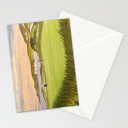 Royal Portrush Golf Course 5th Hole Stationery Cards