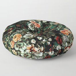 Night Garden VI Floor Pillow