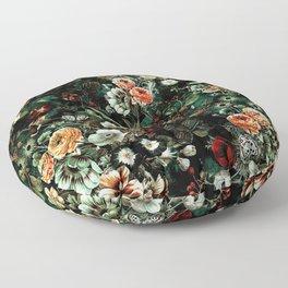 Night Garden VI Floor Pillow