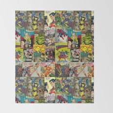 COMIC Throw Blanket