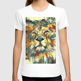 AnimalArt_Lion_20170607_by_JAMColorsSpecial T-shirt