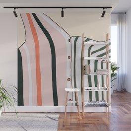 Unbutton Wall Mural