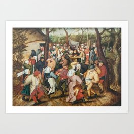 The Wedding Dance Art Print