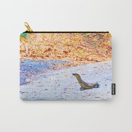 Goanna on a road in Australia Carry-All Pouch
