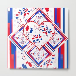 Patriotic Love Fest Metal Print