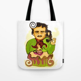 Tea with Poe Tote Bag