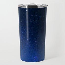 Blue Night Sky (Color) Travel Mug