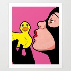 Tweety & Sylvester Art Print