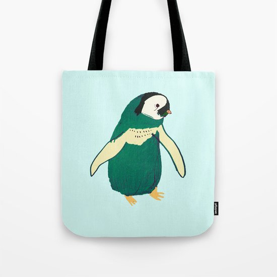 Penguin Cutey. penguin art. Tote Bag