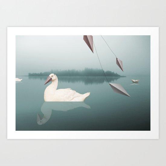 goose Art Print