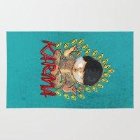 karma Area & Throw Rugs featuring Karma by Seez