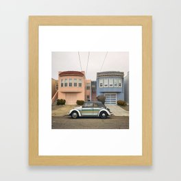 Beetle in the Sunset (district) Framed Art Print