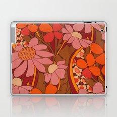 Crazy pinks 50s Flower  Laptop & iPad Skin