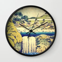 To Pale the Rains in August Wall Clock