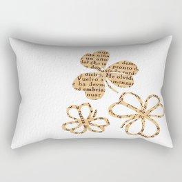 PAPERCUT FLOWER 4 Rectangular Pillow