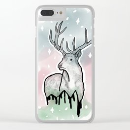 Oh Dear, Oh Deer Clear iPhone Case