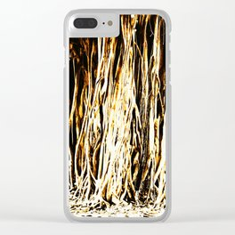 Roots of Banyan Clear iPhone Case
