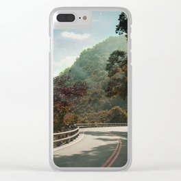 Provincial Highway 11 Clear iPhone Case