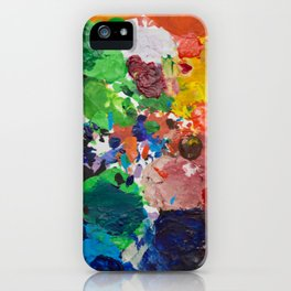 Palette of Colors iPhone Case