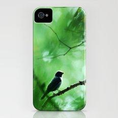 Indigo Bunting Slim Case iPhone (4, 4s)