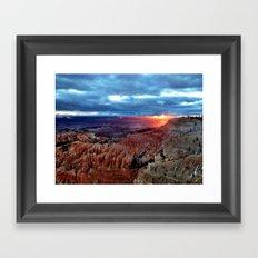 The Sun has risen Framed Art Print