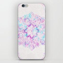 Winter Fiery Mandala iPhone Skin