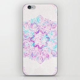 Winter Fiery Mandala iPhone Skin