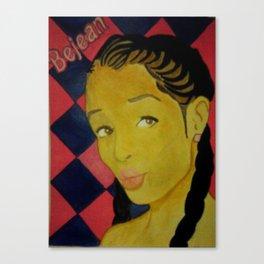 Bejean Barbie Canvas Print