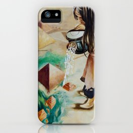 Foundations of Sand iPhone Case