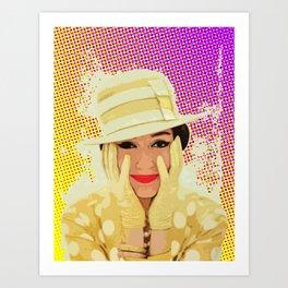 1950s Woman Art Print