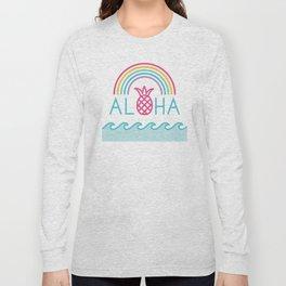 Aloha Rainbow Long Sleeve T-shirt
