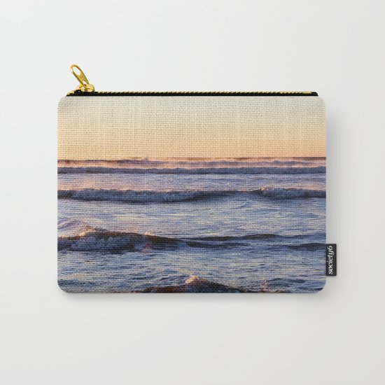 winter ocean Carry-All Pouch