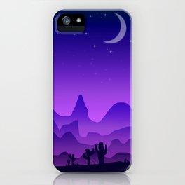 Evening Landscape iPhone Case