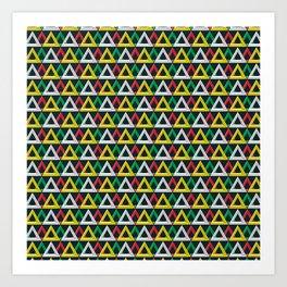 Penrose overload Art Print