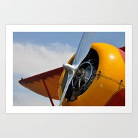 plane Art Prints featuring Plane by Mark Giarrusso
