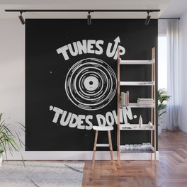 TUNES UP Wall Mural
