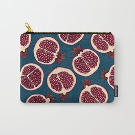 Pomegranate slices Carry-All Pouch