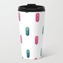 People Pill Pattern Travel Mug