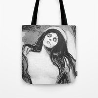 madonna Tote Bags featuring Madonna by The Invisible Shop