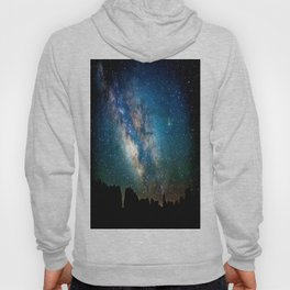The Milky Way Mountains Hoody