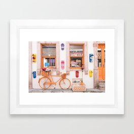 Cunda Island Life - Turkey Framed Art Print