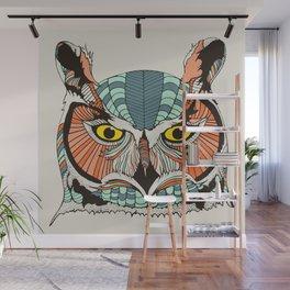 OWLBERT Wall Mural